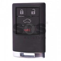 Оригинален смарт ключ за коли Cadillac с 4 бутона - 433 MHz Keyless Go