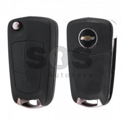 Оригинален сгъваем ключ за коли Chevrolet Epica/Captiva с 3 бутона - 433 MHz