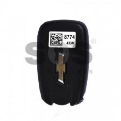 Оригинален смарт ключ за коли Chevrolet Volt с 3 бутона 434MHz Keyless Go