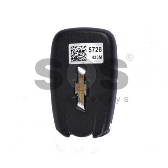 Оригинален смарт ключ за коли Chevrolet Malibu с 3+1 бутона 434 MHz Keyless Go