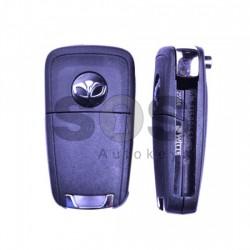 Оригинален сгъваем ключ за коли Daewoo с 3 бутона - 433 MHz PCF 7937