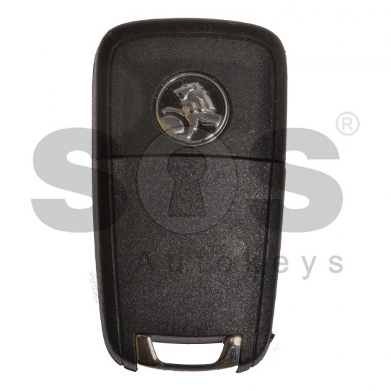 Сгъваем ключ коли за Holden с 3 бутона - 315 MHz HITAG2 / ID 46