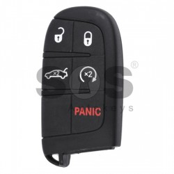 Оригинален смарт ключ за коли Chrysler с 4+1 бутона - 434 MHz Keyless Go