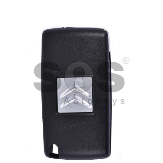 Сгъваем ключ за коли Citroen C5 с 3 бутона 433 MHz