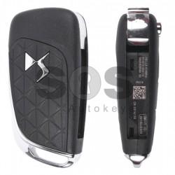 Оригинален сгъваем ключ за коли Citroen DS4 с 3 бутона - 434 MHz