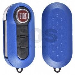 Сгъваем ключ за Fiat 500 с 3 бутона 433MHz SIP22