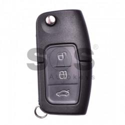 Оригинален сгъваем ключ за коли Ford с 3 бутона - 434 Mhz - HU101