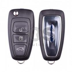 Оригинален сгъваем ключ за коли Ford Mondeo с 3 бутона - 433 MHz