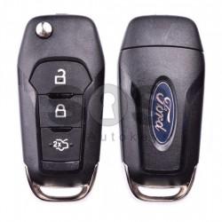 Оригинален сгъваем ключ за коли Ford с 3 бутона - 434 MHz
