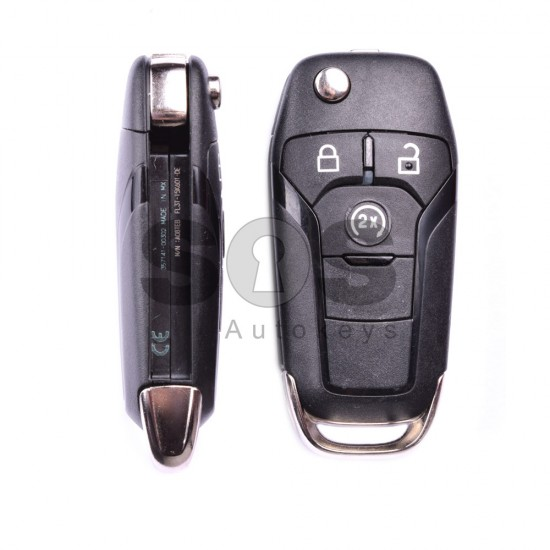 Сгъваем ключ за коли Ford с 3 бутона - 868 MHz