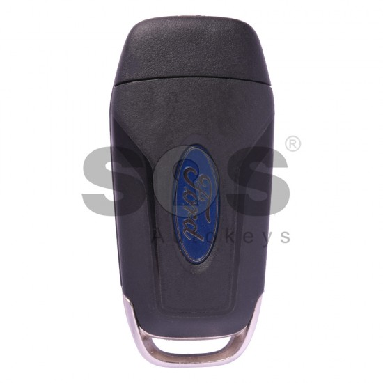Сгъваем ключ за коли Ford Fusion с 3+1 бутона - 315 MHz