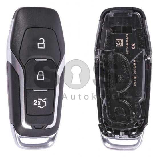 Смарт ключ за коли Ford с 3 бутона - 434 MHz - HITAG - Pro