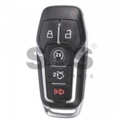 Оригинален смарт ключ за коли Ford с 4+1 бутона - 902 MHz - HITAG - Pro
