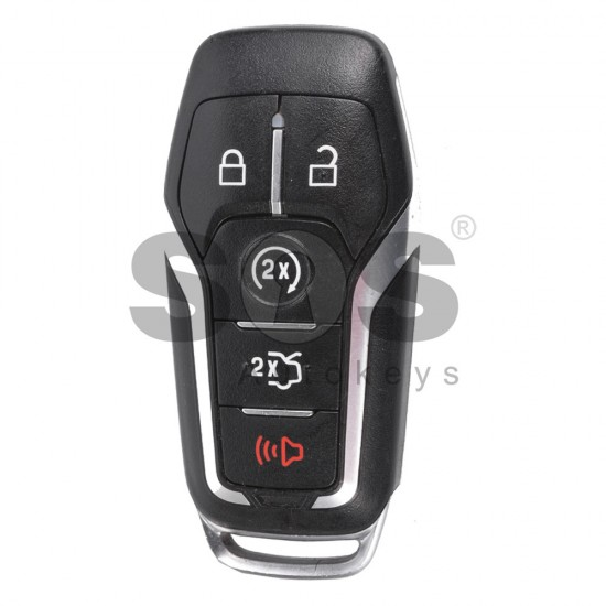Оригинален смарт ключ за коли Ford Mustang с 4+1 бутона - 902 MHz