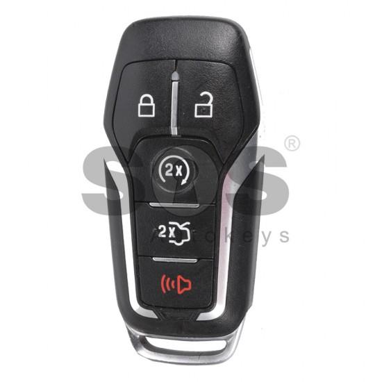 Смарт ключ за коли Ford Mustang с 4+1 бутона - 902 MHz