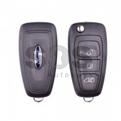 Оригинален сгъваем ключ за коли Ford Transit 2015+ с 3 бутона - 433 MHz