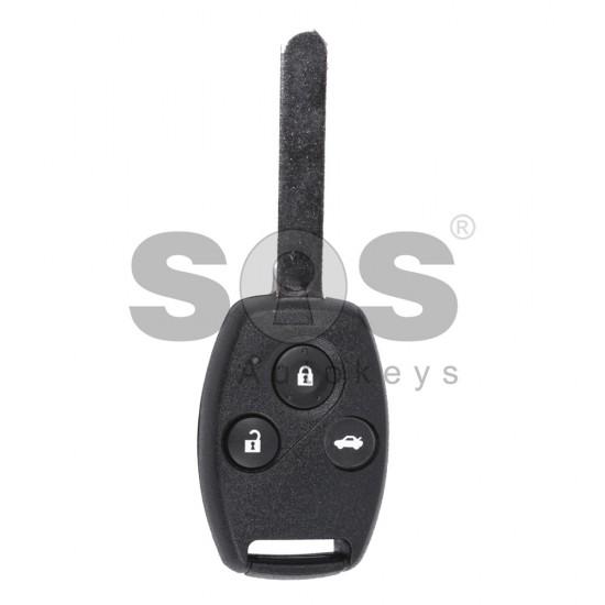 Ключ за коли Honda Civic с 3 бутона - 433 MHz