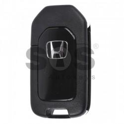 Оригинален сгъваем ключ за коли Honda CR-V с 2 бутона 433MHz HON66