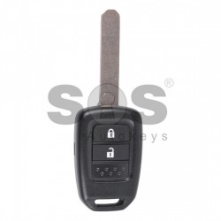 Оригинален ключ за коли Honda с 2 бутона - 433 MHz