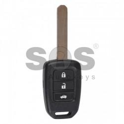Оригинален ключ за коли Honda с 3 бутона - 433 MHz