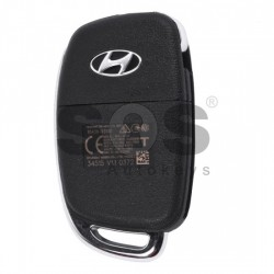Оригинален сгъваем ключ за коли Hyundai Tucson с 3 бутона - 433 MHz