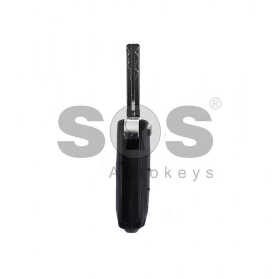Оригинален сгъваем ключ за коли Hyundai с 3 бутона - 433MHz