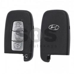 Оригинален смарт ключ за коли Hyundai с 3 бутона - 434 MHz - PCF 7952
