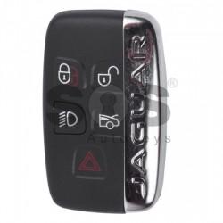 Смарт ключ за коли Jaguar с 4+1 бутона - 434 MHz