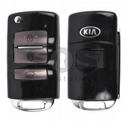Оригинален сгъваем ключ за коли KIA с 3 бутона 433 MHz