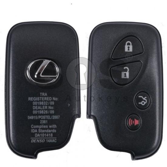 Смарт ключ за коли Lexus LX570 с 3+1 бутона 433 MHz