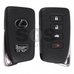 Оригинален смарт ключ за коли Lexus с 3+1 бутона 433 MHz Транспондер: Tiris