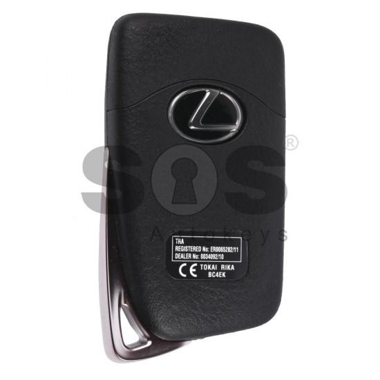 Смарт ключ за коли Lexus с 3+1 бутона 433 MHz Транспондер: Tiris