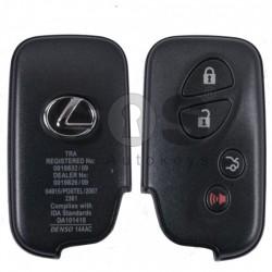 Оригинален смарт ключ за коли Lexus с 3+1 бутона 433 Mhz TMS 37126 80 BIT