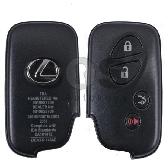 Смарт ключ за коли Lexus с 3+1 бутона 433 Mhz TMS 37126 80 BIT
