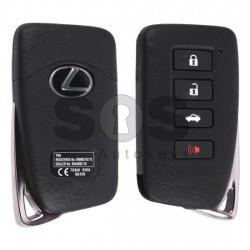 Оригинален смарт ключ за коли Lexus с 3+1 бутона 433 MHz, Транспондер: Texas Crypto