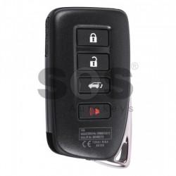 Оригинален смарт ключ за коли Lexus LX 570 с 3+1 бутона 433 MHz