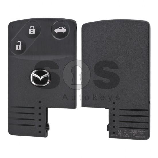 Оригинална смарт карта за Mazda CX-9 с 3 бутона 433 MHz