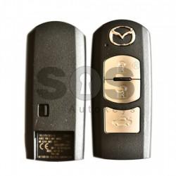 Оригинален смарт ключ за коли Mazda 2014+ с 3 бутона 434MHz