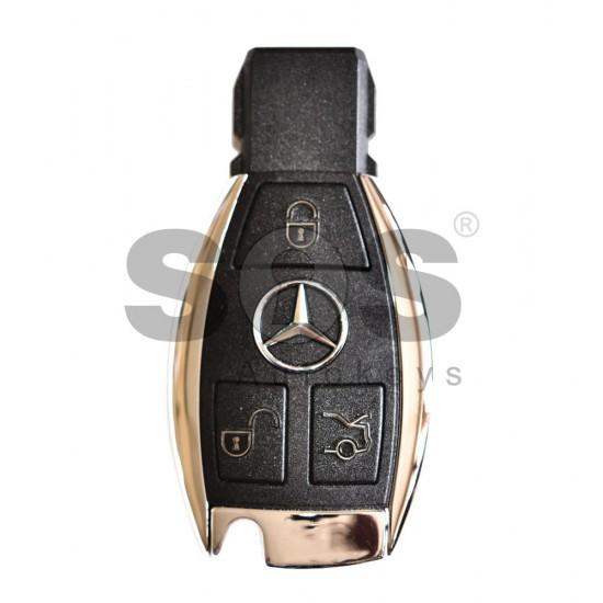 Смарт ключ за коли Mercedes 2013+ с 3 бутона 315 MHz