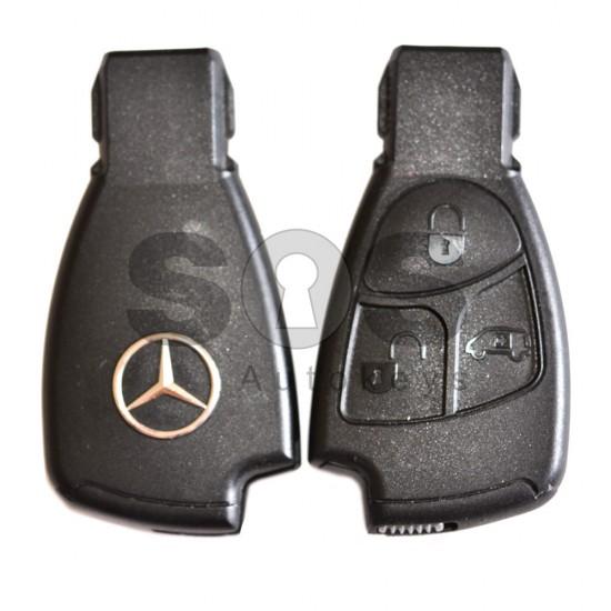 Смарт ключ за коли Mercedes 1996-2005 с 3 бутона 433 MHz