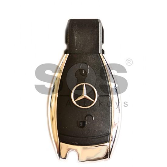 Смарт ключ за коли Mercedes 2005-2010 с 2 бутона 433 MHz