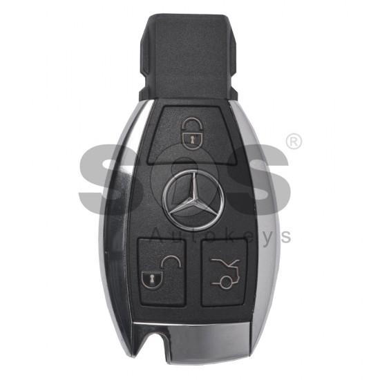 Смарт ключ за коли Mercedes 2010+ с 3 бутона Честота - 433MHz