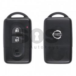 Оригинален смарт ключ за Nissan/Infiniti 2002-2009 с 2 бутона 433 MHz