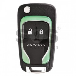 Оригинален флип ключ за Opel Adam с 2 бутона 433MHz BCM