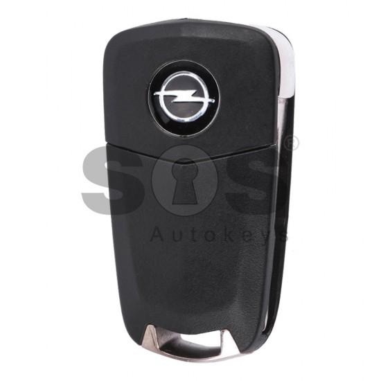 Оригинален сгъваем ключ за коли Opel Antara с 2 бутона 433 MHz