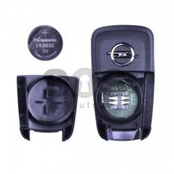 Оригинален сгъваем ключ за коли Opel Astra J/Insignia с 2 бутона 433 MHz