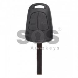 Оригинален ключ за коли Opel Astra H с 2 бутона 433 MHz