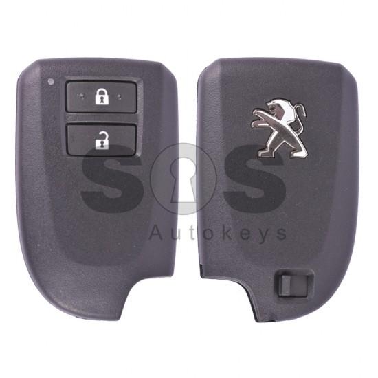 Смарт ключ за коли Peugeot 108 с 2 бутона 434 MHz