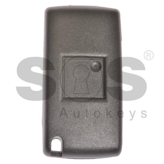 Сгъваем ключ за коли Peugeot / Citroen C5 с 2 бутона - 433 MHz