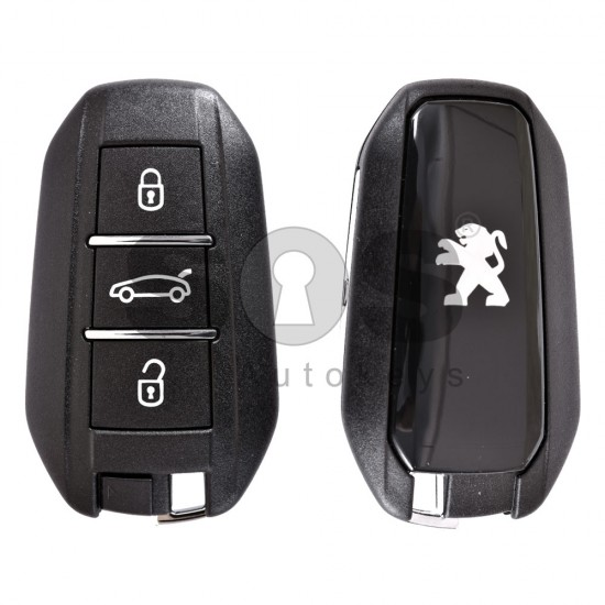 Смарт ключ за коли Peugeot 308/508 с 3 бутона 434 MHz